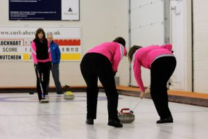 Team Scotland in action at the Accord Aberdeen City Open