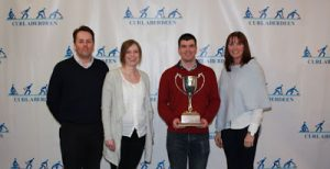 Directors Cup High Road - L-R: Hugh Craigie, Tamara Thomson, Murray McGregor (Skip), Jackie Lockhart. Not Pictured - Roger Laird